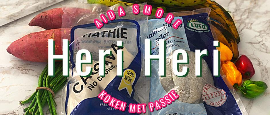 Heri Heri Recept met Bakkeljauw