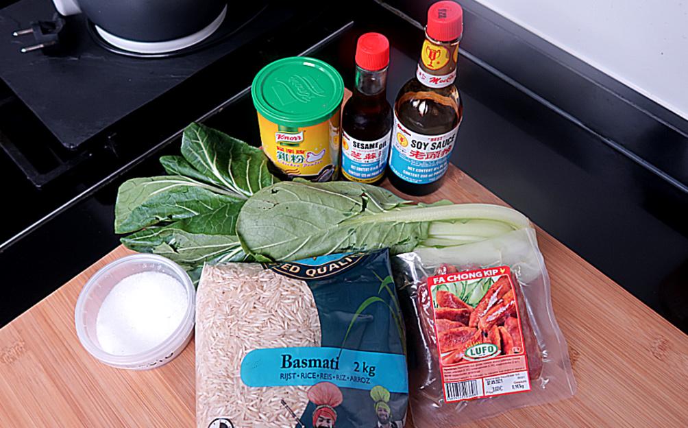 Tjauw-Fan Recept - Ingredienten